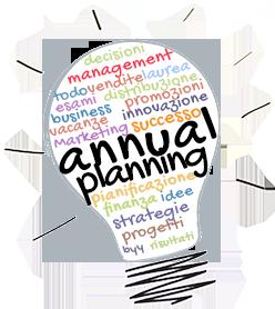 Annual planning logo